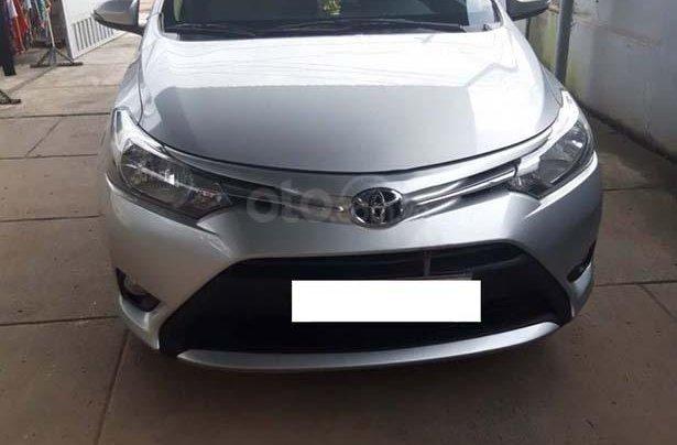Cần bán Toyota Vios 1.5E đời 2017, màu bạc, giá chỉ 390 triệu0