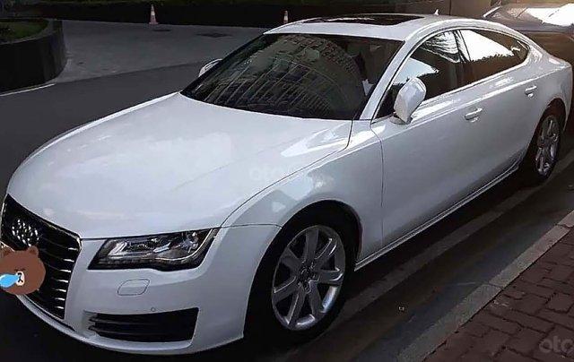 Cần bán gấp Audi A7 Sportback 3.0 đời 2014, màu trắng, xe nhập0