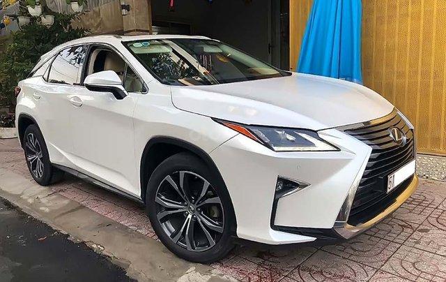 Cần bán lại xe Lexus RX 200T năm 2016, màu trắng, nhập khẩu0