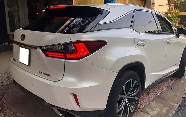Cần bán lại xe Lexus RX 200T năm 2016, màu trắng, nhập khẩu1