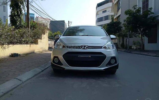 Bán xe Hyundai Grand i10 năm sản xuất 2016, màu bạc, xe nhập chính hãng1
