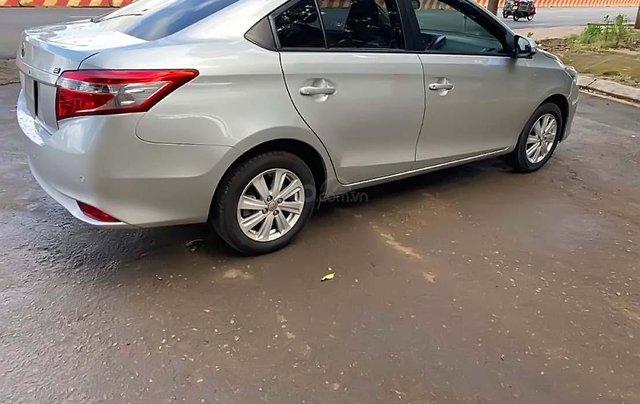 Bán ô tô Toyota Vios AT E đời 2016, màu bạc số tự động1