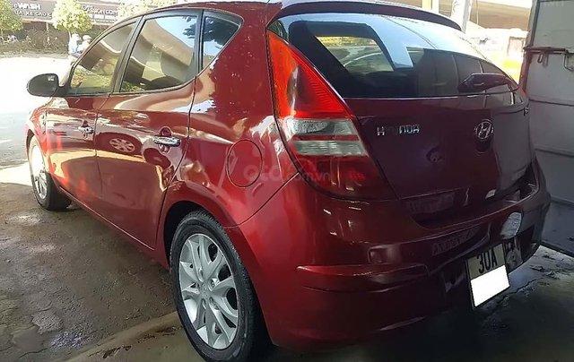 Bán xe Hyundai i30 sản xuất 2008, màu đỏ, nhập khẩu nguyên chiếc số tự động1