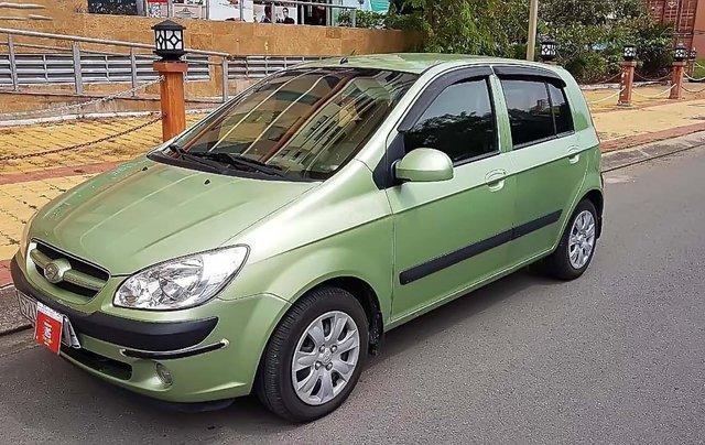 Bán Hyundai Getz 1.4 AT đời 2008, màu xanh cốm, nhập khẩu Hàn Quốc, giá tốt0