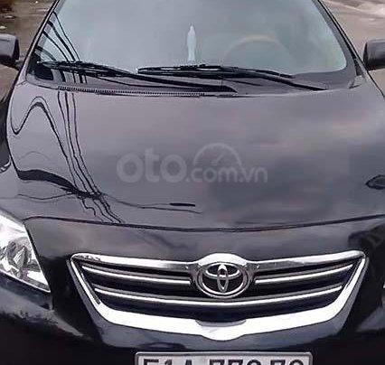 Bán xe Toyota Corolla Altis 1.8G 2008, màu đen, giá 415tr0