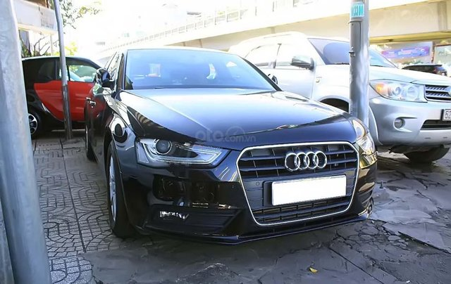 Cần bán Audi A4 1.8 TFSI 2012, màu đen, xe nhập, số tự động0