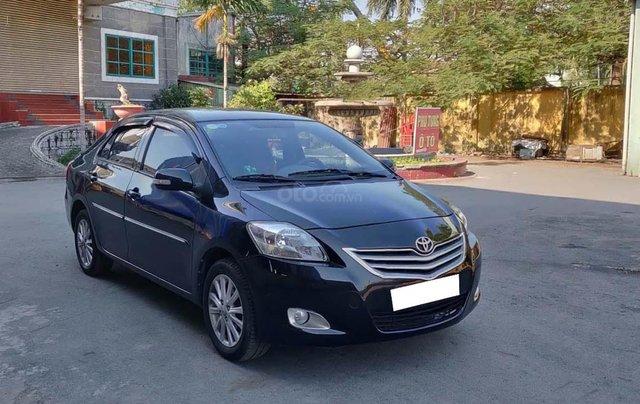 Cần bán lại xe Toyota Vios E sản xuất 2010, màu đen, chính chủ0