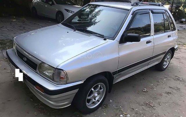 Bán xe cũ Kia Pride CD5 đời 2003, màu bạc0