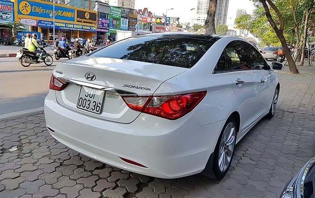 Bán ô tô Hyundai Sonata 2.0 AT sản xuất năm 2012, màu trắng, nhập khẩu nguyên chiếc chính chủ4