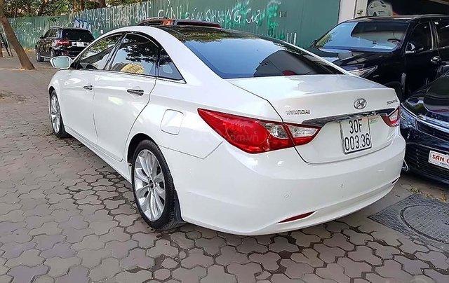 Bán ô tô Hyundai Sonata 2.0 AT sản xuất năm 2012, màu trắng, nhập khẩu nguyên chiếc chính chủ1