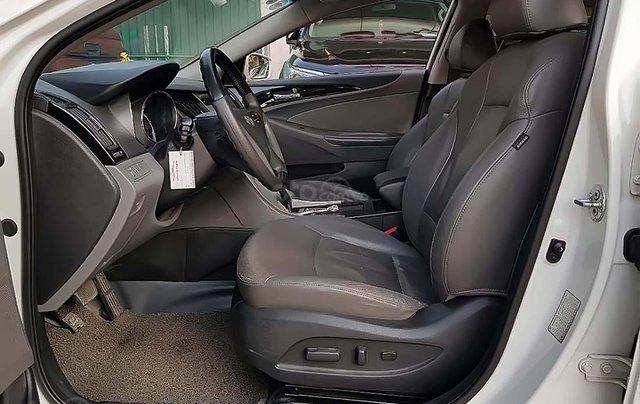 Bán ô tô Hyundai Sonata 2.0 AT sản xuất năm 2012, màu trắng, nhập khẩu nguyên chiếc chính chủ3