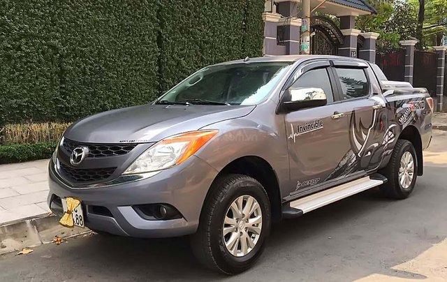 Cần bán gấp Mazda BT 50 sản xuất 2013, màu xám, nhập khẩu số tự động0