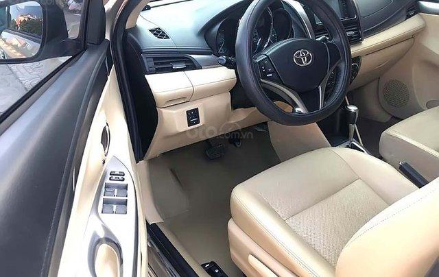 Cần bán xe cũ Toyota Vios 1.5G đời 2016, màu vàng1