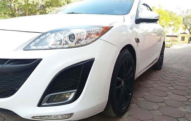 Bán Mazda 3 1.6 AT sản xuất năm 2010, màu trắng, nhập khẩu0