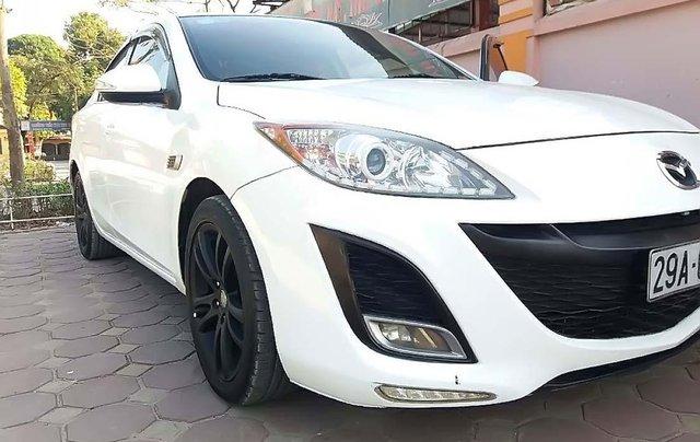 Bán Mazda 3 1.6 AT sản xuất năm 2010, màu trắng, nhập khẩu2
