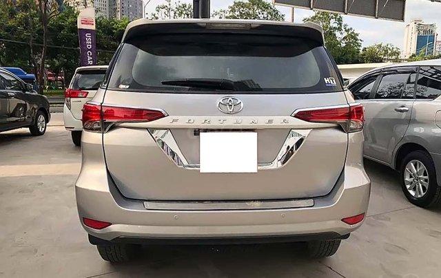 Bán Toyota Fortuner 2.4G 4x2 MT đời 2017, màu bạc, nhập khẩu 3