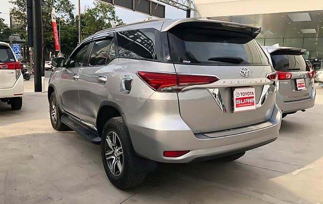 Bán Toyota Fortuner 2.4G 4x2 MT đời 2017, màu bạc, nhập khẩu 1