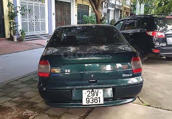 Cần bán xe cũ Fiat Siena 2000, màu xanh lục1