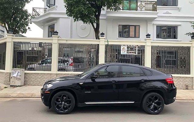 Cần bán xe BMW X6 đời 2009, màu đen, xe nhập0