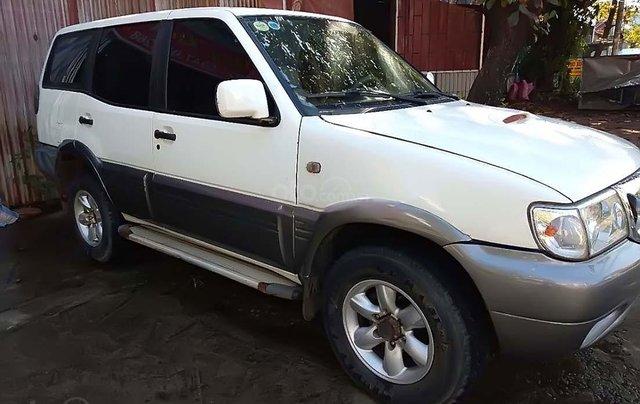 Bán Nissan Terrano sản xuất năm 2000, màu trắng, xe nhập, 140tr0