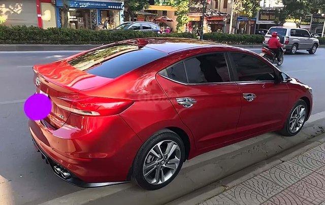 Bán Hyundai Elantra AT 2.0 đời 2017, màu đỏ giá cạnh tranh1