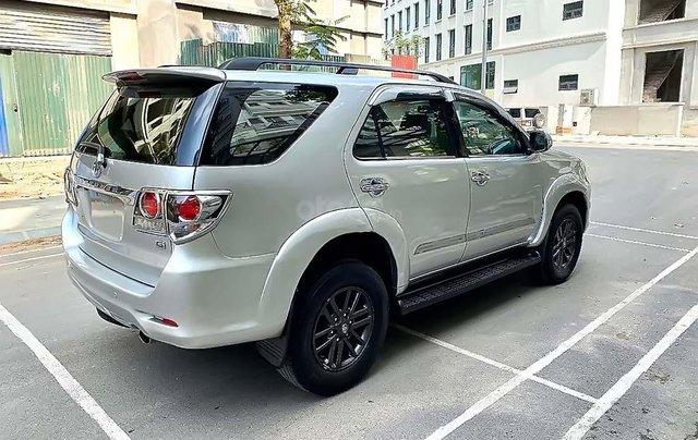 Bán Toyota Fortuner 2.5G đời 2016, màu bạc, số sàn1