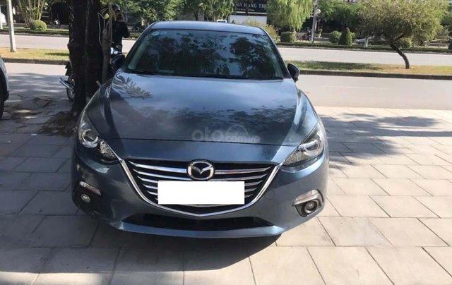 Cần bán gấp Mazda 3 1.5AT đời 2016, màu xanh lam chính chủ0