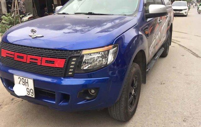 Cần bán lại xe Ford Ranger năm 2015, màu xanh lam, nhập khẩu chính hãng0