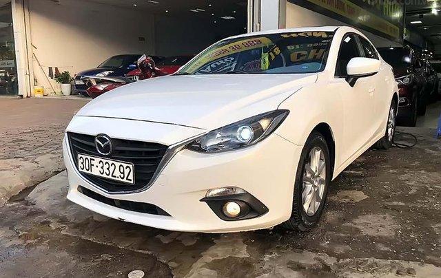 Bán Mazda 3 1.5 AT năm sản xuất 2017, màu trắng, 585tr0