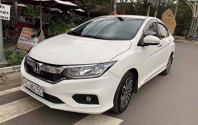 Bán xe cũ Honda City 1.5TOP đời 2018, màu trắng0