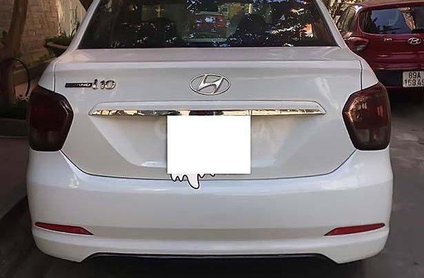 Bán Hyundai Grand i10 1.2 MT Base đời 2015, màu trắng, nhập khẩu2