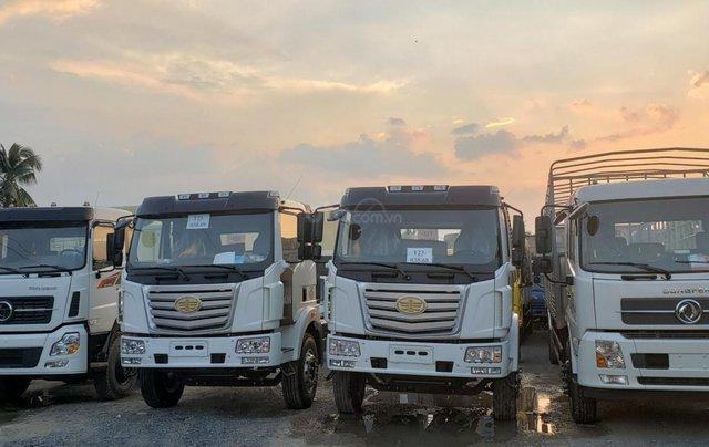 Công ty xả hàng siêu giảm giá, xe tải FAW chở linh kiện điện tử cao 2m6 dài 9m7, giá không thể tốt hơn2