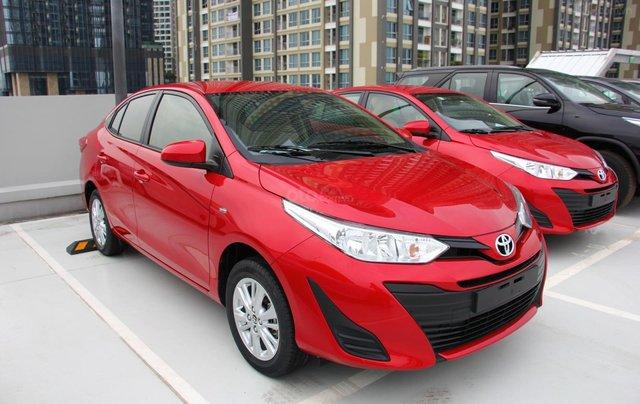 Bán nhanh chiếc Toyota Vios E đời 2019, màu đỏ - Giá cạnh tranh - Giao nhanh tận nhà0