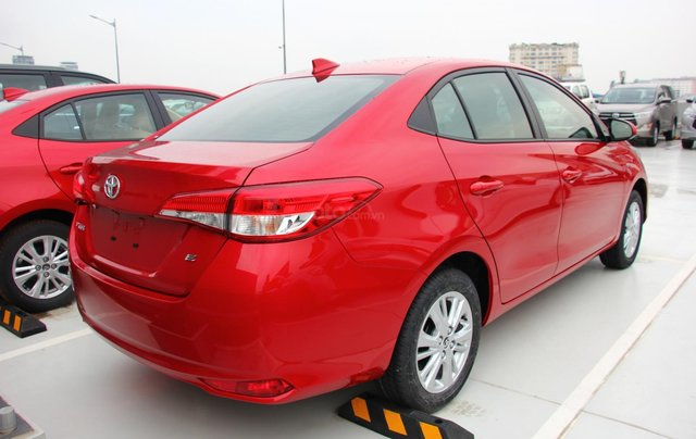 Bán nhanh chiếc Toyota Vios E đời 2019, màu đỏ - Giá cạnh tranh - Giao nhanh tận nhà7