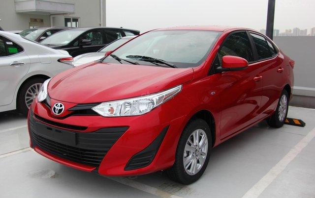 Bán nhanh chiếc Toyota Vios E đời 2019, màu đỏ - Giá cạnh tranh - Giao nhanh tận nhà6