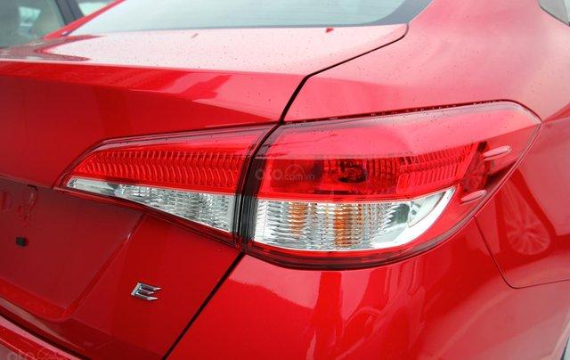 Bán nhanh chiếc Toyota Vios E đời 2019, màu đỏ - Giá cạnh tranh - Giao nhanh tận nhà8