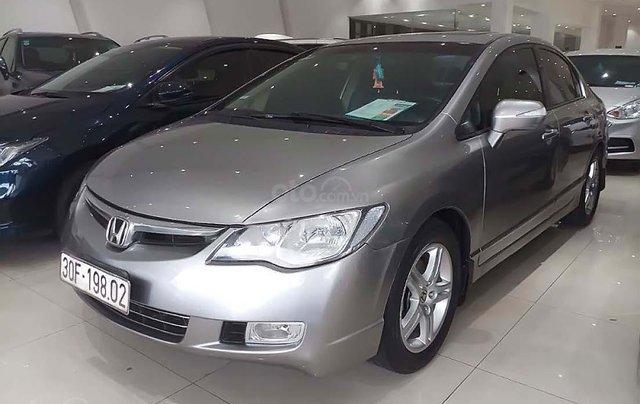 Bán xe cũ Honda Civic 2.0AT đời 2007, màu bạc0