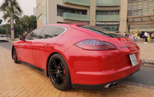Bán Porsche Panamera 2010, màu đỏ, nhập khẩu, xe ít sử dụng1