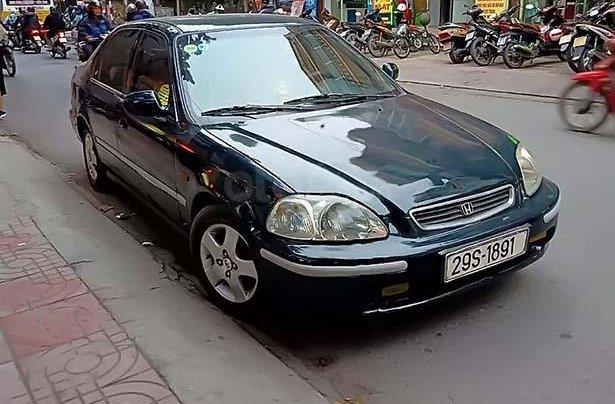 Bán Honda Civic 1.6 MT đời 1997, màu xanh lam, xe nhập0