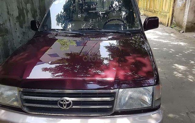 Cần bán lại xe Toyota Zace GL đời 2002, màu đỏ, giá chỉ 150 triệu0