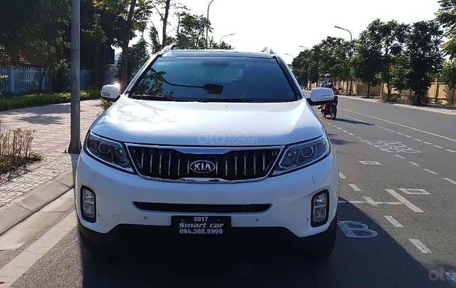 Bán ô tô Kia Sorento DATH đời 2017, màu trắng như mới 0