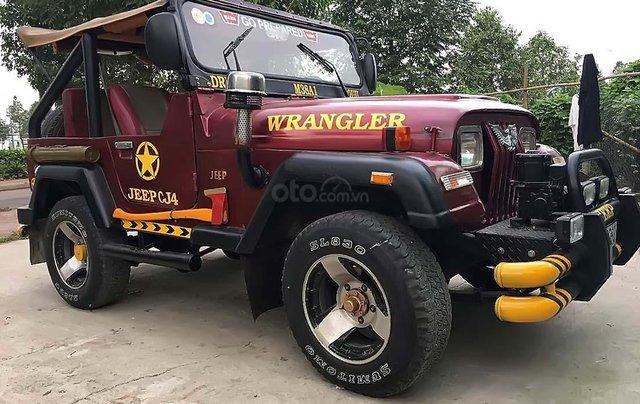 Cần bán Jeep CJ năm 1990, màu đỏ, nhập khẩu  0