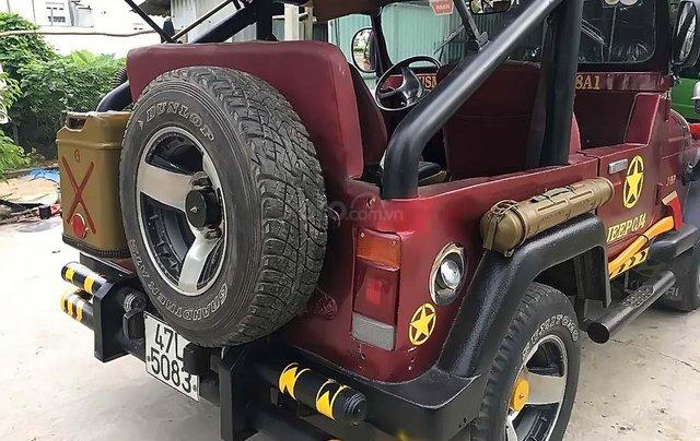 Cần bán Jeep CJ năm 1990, màu đỏ, nhập khẩu  1