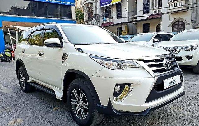 Bán ô tô Toyota Fortuner 2.5 AT 2018, màu trắng, nhập khẩu1