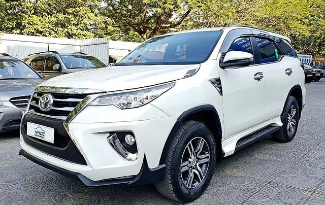 Bán ô tô Toyota Fortuner 2.5 AT 2018, màu trắng, nhập khẩu0