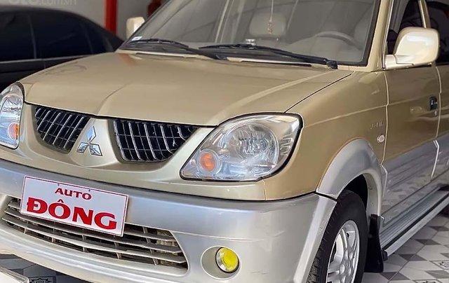 Cần bán Mitsubishi Jolie SS năm 2004, màu vàng, xe gia đình0