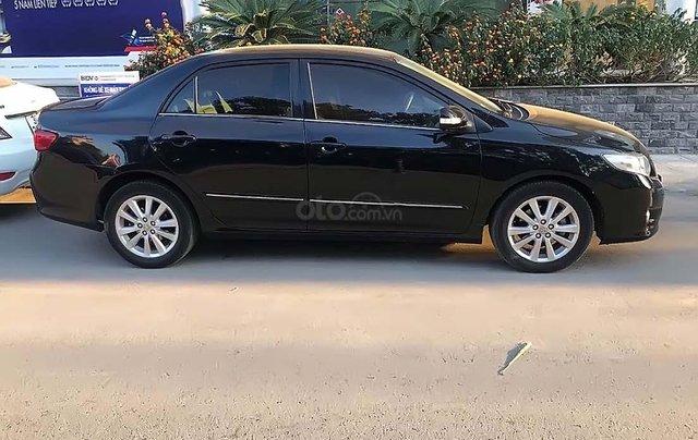 Bán Toyota Corolla Altis năm sản xuất 2010, màu đen, nhập khẩu 1