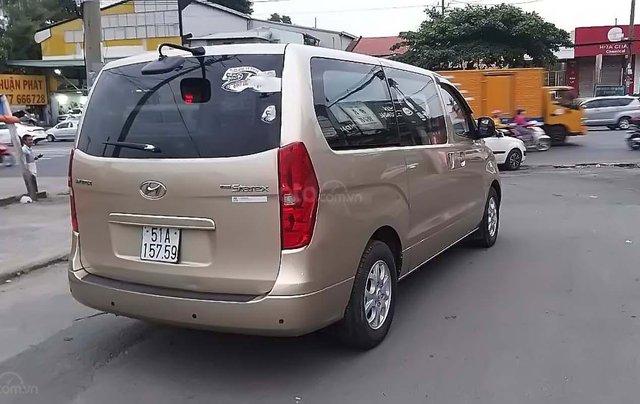 Bán xe Hyundai Grand Starex 2.5MT năm 2010, màu vàng, nhập khẩu1