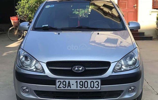 Bán Hyundai Getz đời 2010, màu bạc, nhập khẩu  0