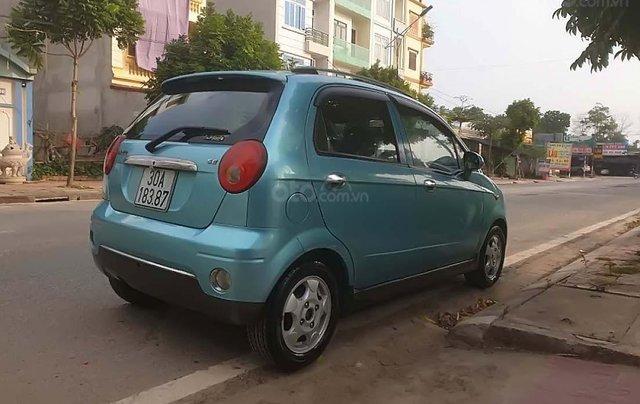 Bán xe Daewoo Matiz 2006, màu xanh lam, xe nhập số tự động, giá tốt1